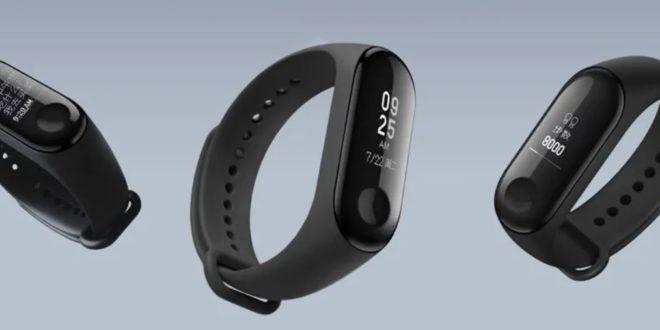 Couverture du bracelet connecté Xiaomi Mi Band 3