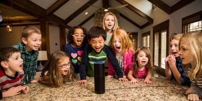Enfants assistants intelligents Amazon Alexa contrôle parental