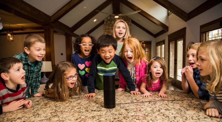 Enfants assistants intelligents Amazon Alexa contrôle parental