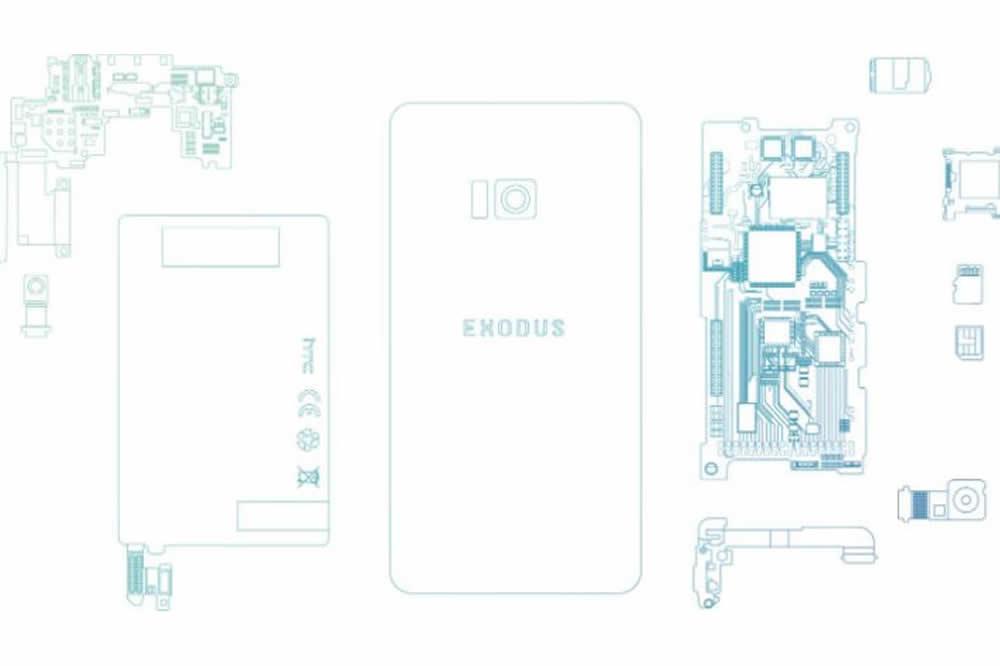 Exodus de HTC blockchain