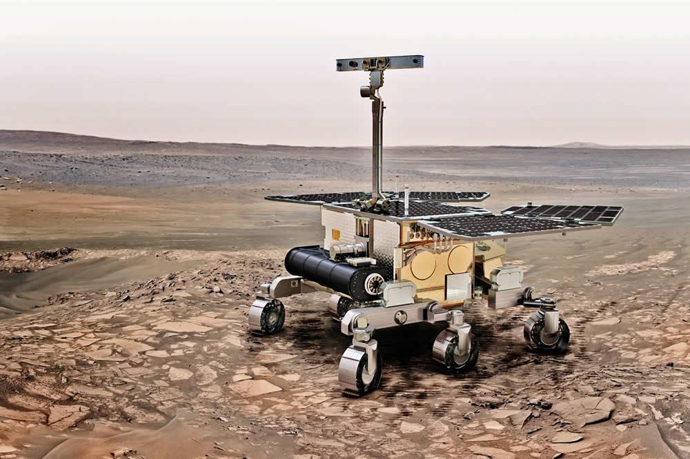 Exomars robot européen à la recherche de traces de vie sur planète Mars