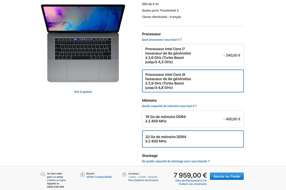 MacBook Pro Coffee Lake