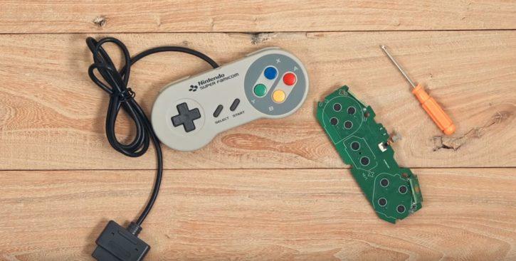 manette Super Nintendo sans fil