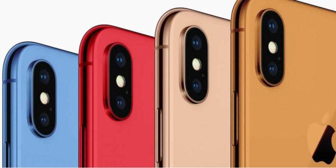 Nouveaux modèles iPhone X 2018
