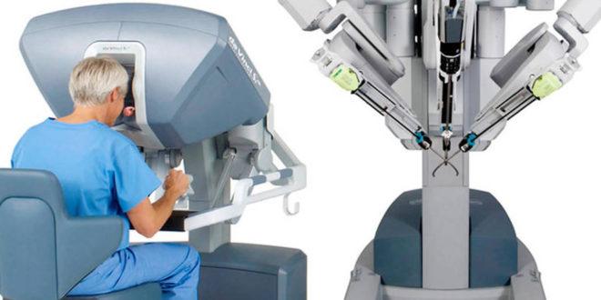 Robots chirurgiens bloc opératoire