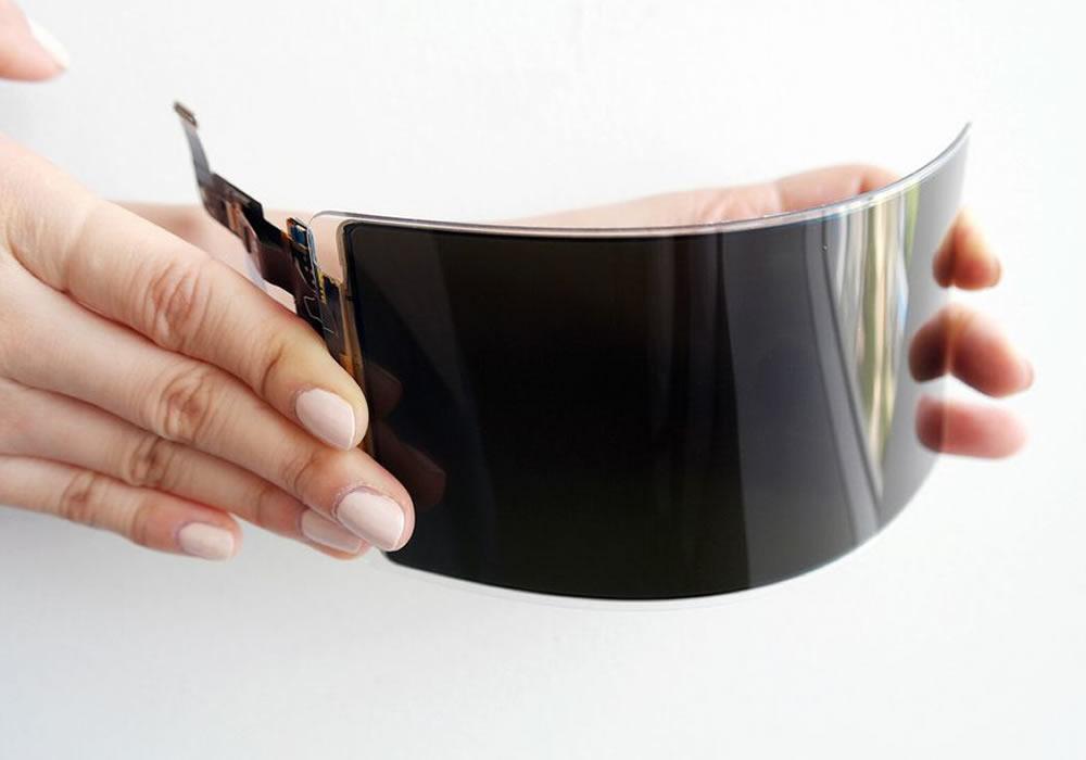Samsung écran OLED pliable