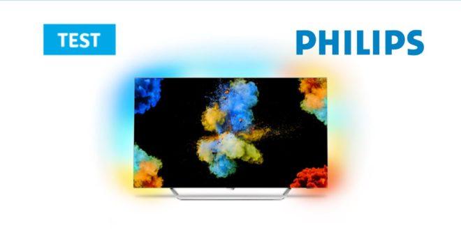 Couverture test télévision Philips