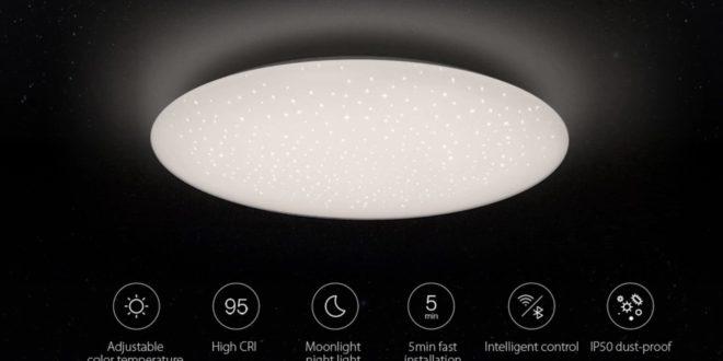 Yeelight JIAOYUE YLXD04YL 450 LED Ceiling Light 200 - 240V - WHITE WHITE LAMPSHADE