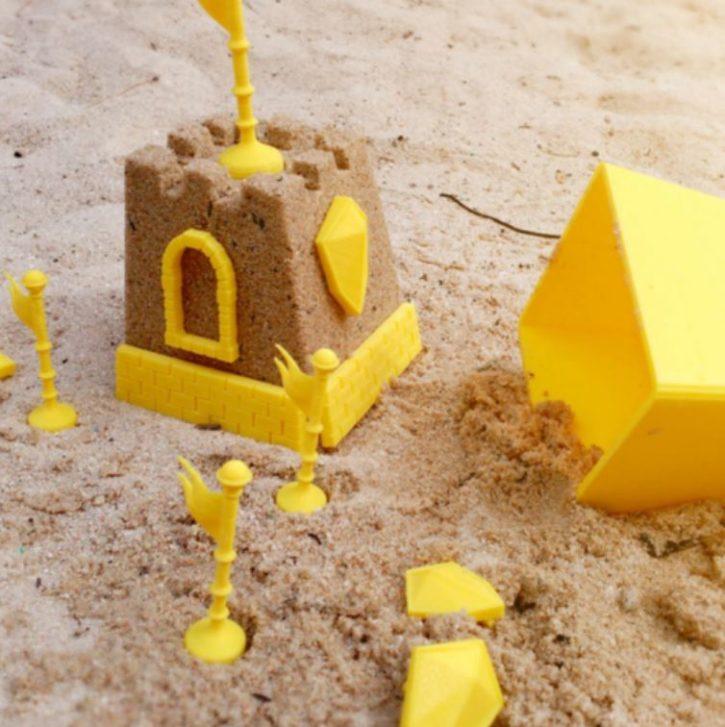 Figuriens pour château de sable via une imprimante 3D