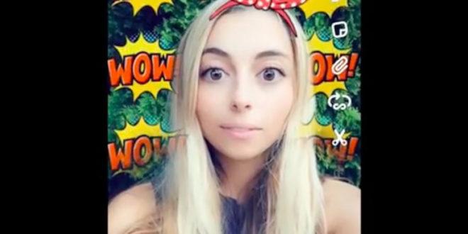 Filtres Snapchat répondant à la voix