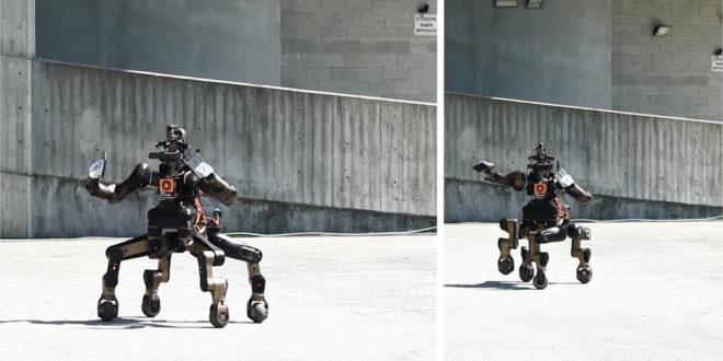 Robot centaure