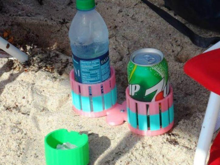Support cannette et bouteille imprimante 3D