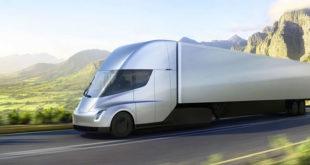 Tesla Semi test du camion électrique UPS