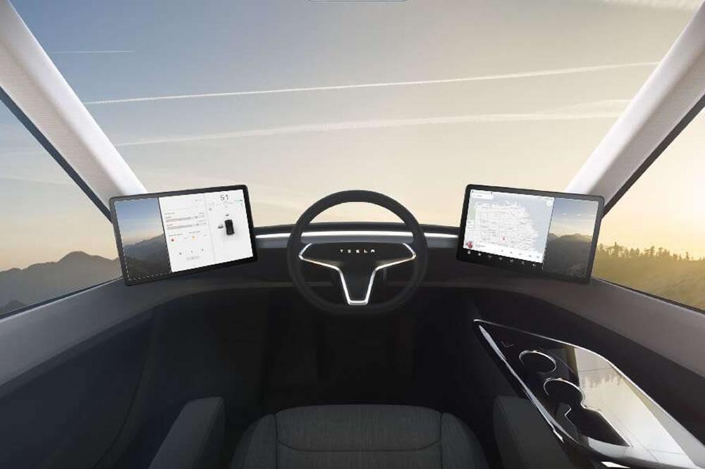Tesla Semi test du camion électrique