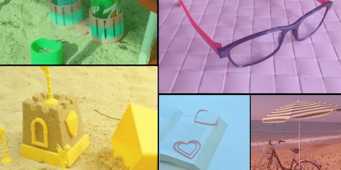 Couverture top 5 nouvelle mode objets imprimante 3D plage