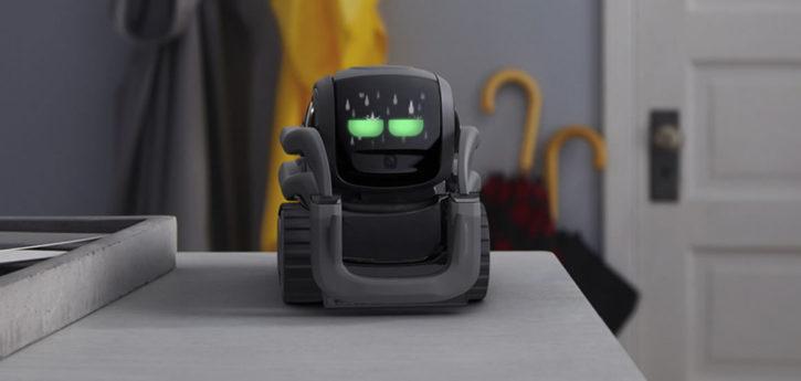 Vector robot domestique mignon