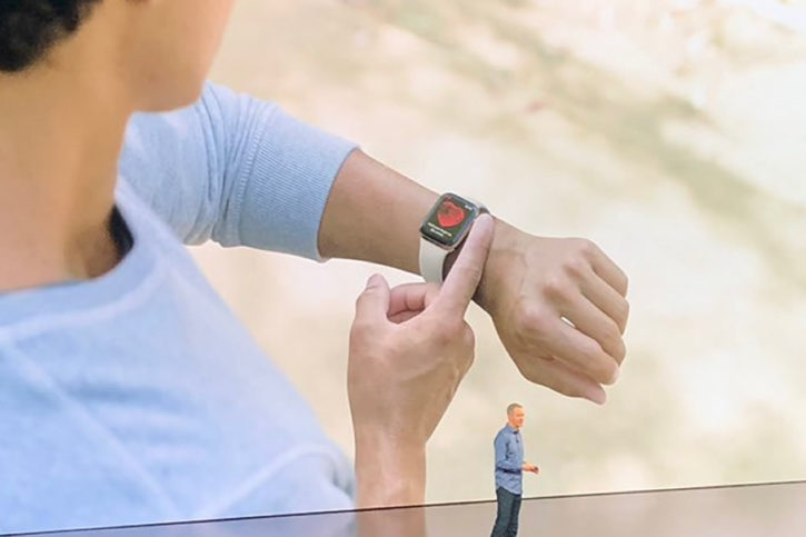 Apple Watch version 4 électrocardiogramme ECG