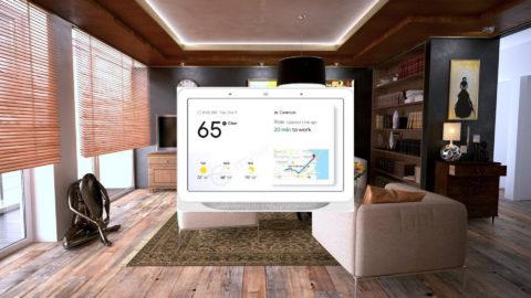 google home hub fuite