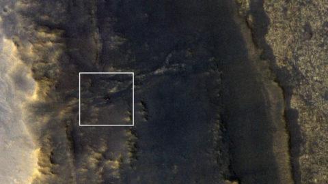 La Nasa retrouve le robot Opportunity sur la planète Mars photo satellite