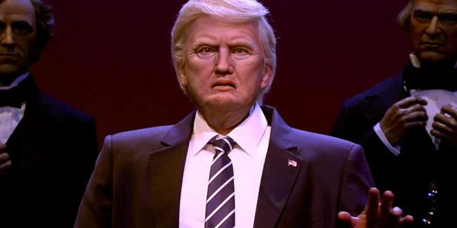 Robot Donald Trump Disney