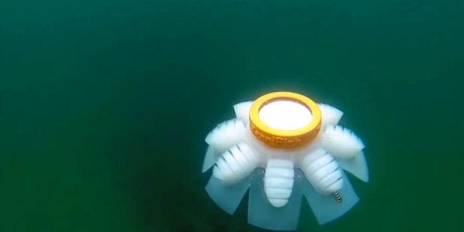 robot méduse océan