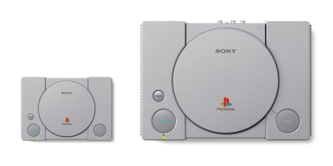 La Playstation Classic Mini bientôt disponible à moins de 100 euros