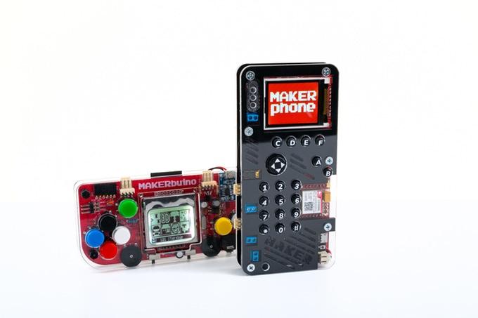 Nouveau jeu Makerphone : construire son téléphone soi-même
