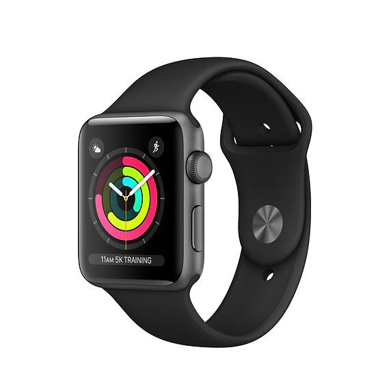 Apple watch 3 conccurent Steel HR Sport