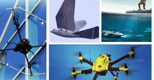 top5 des drones insolites