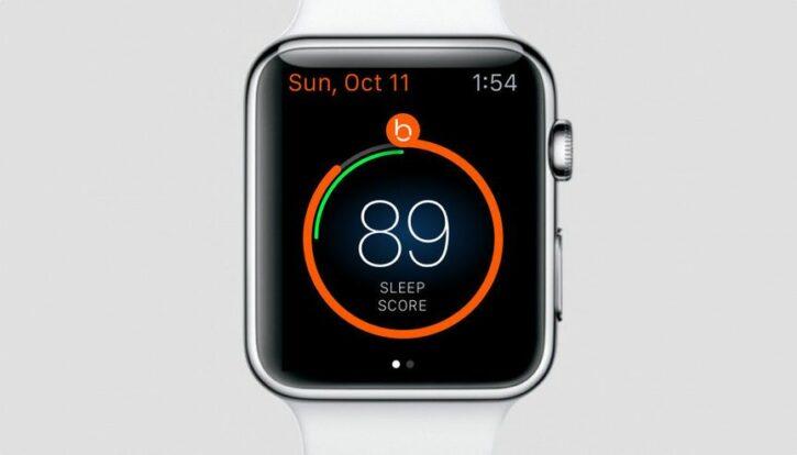 application de sommeil pour apple watch beddit