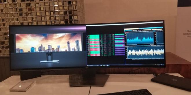 Dell présente un moniteur 49 pouces ultralarge avec une résolution QHD