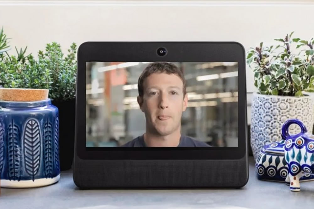 Facebook boitier connecté
