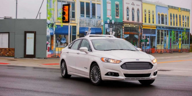 Ford système finir feux signalisation stop intelligence artificielle