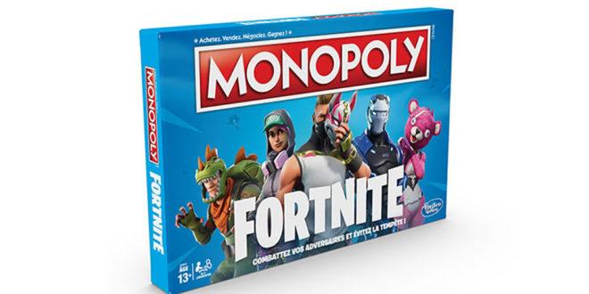 Fortnite, le jeu phénomène se décline maintenant en Monopoly