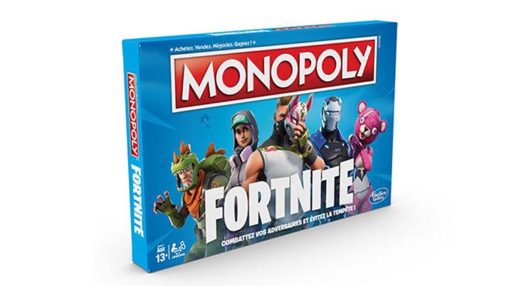 Fortnite, le jeu phénomène se décline maintenant en Monopoly jeu