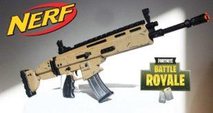 Nerf sort le tout premier fusil a fléchette inspiré du jeu Fortnite