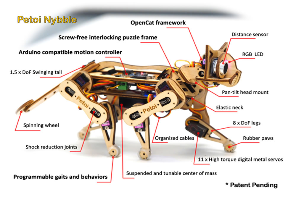 Nybble chat robot en kit
