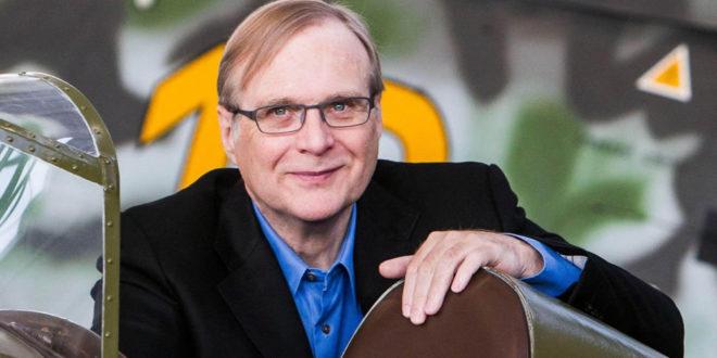 Mort de Paul Allen co-fondateur Microsoft