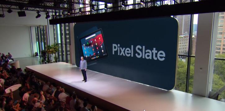pixel slate présentation google