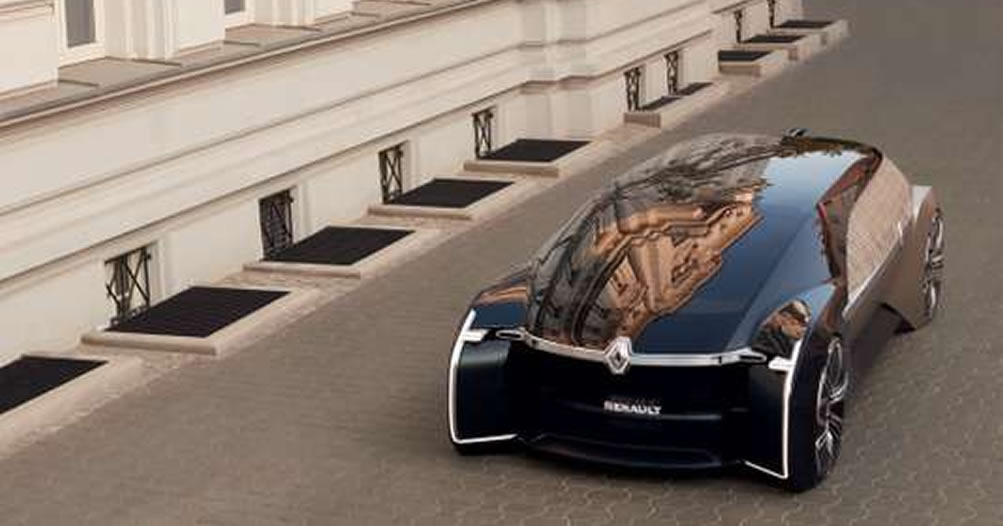Renault limousine concept car autonome