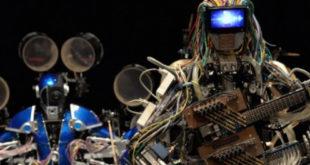 Musique rock composée par une intelligence artificielle