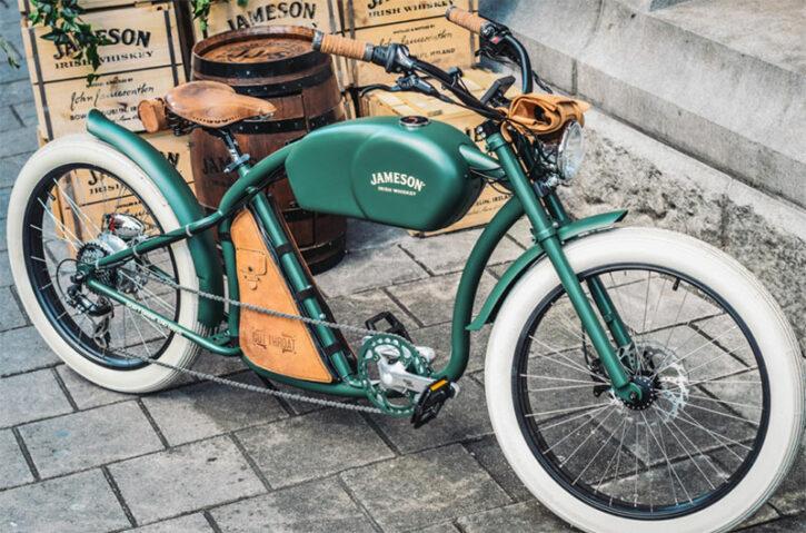 oto cycles vélo électrique au look vintage concurrence face au Super 73 SG