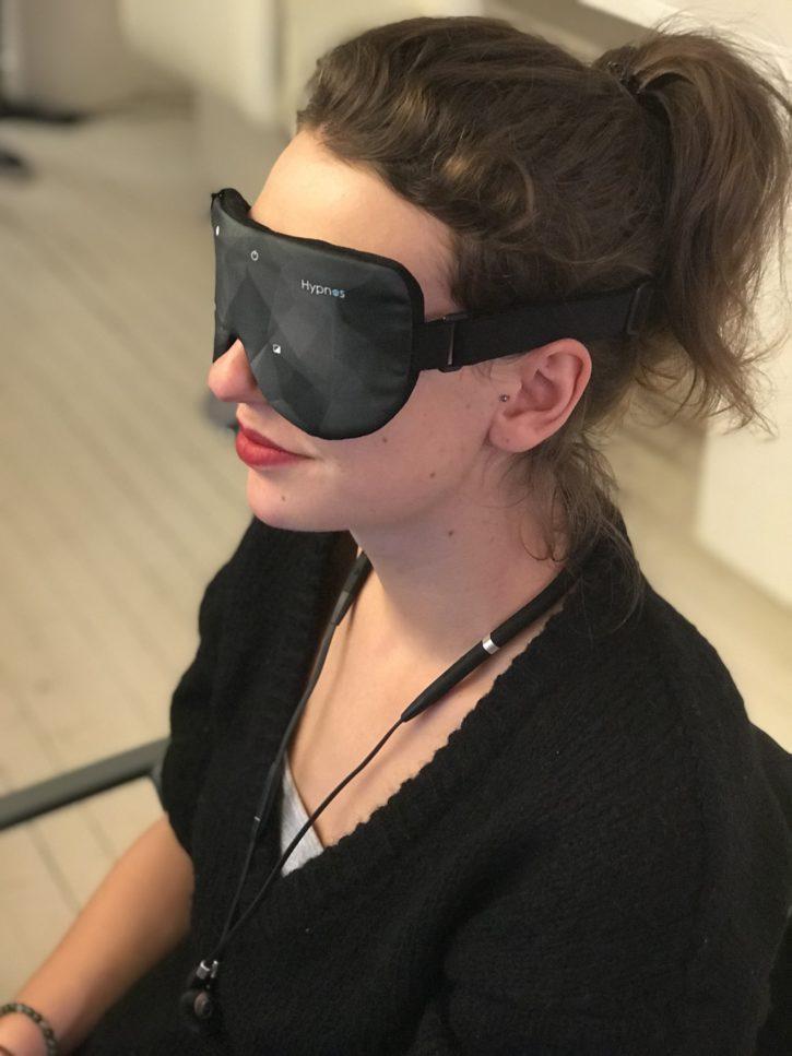 le masque hypnos porté, confortable et efficace