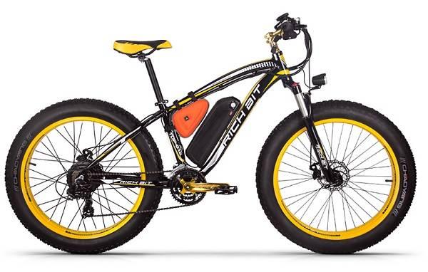 comparatif de vélo électrique, RichBit RT 012 meilleur qualité/prix