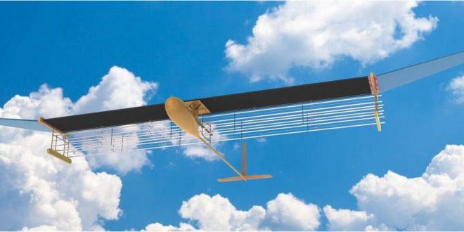Avion propulsion par ions