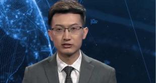Chine présentateur JT intelligence artificielle