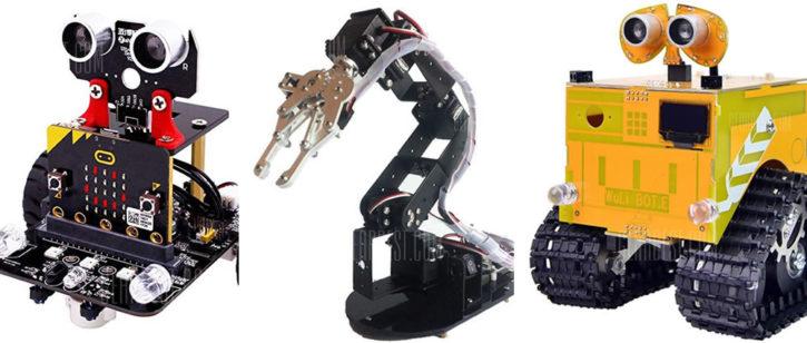 Robots initiation apprentissage de la robotique enfants et adolescents