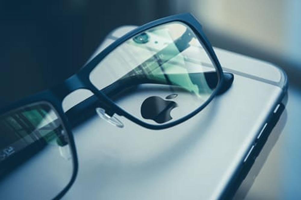 Surprenant brevet Apple lunettes