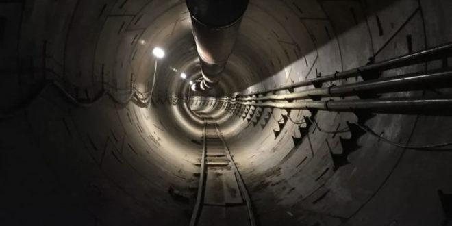 Tunnel The Boring Company vidéo Elon Musk
