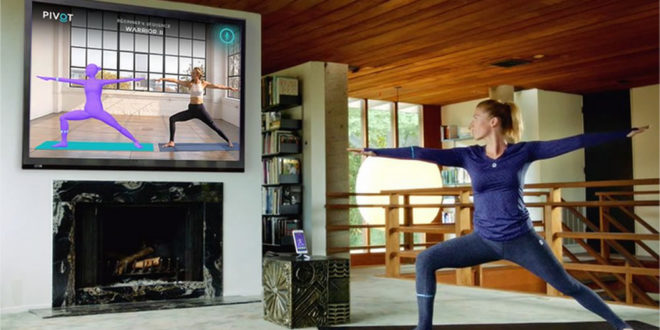 Vêtements yoga connecté